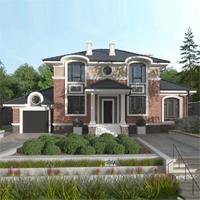 проект дома 71-45 общ. площадь 254,25 м2