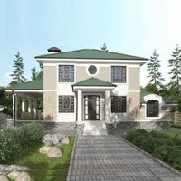 проект дома 71-46 общ. площадь 276,15 м2