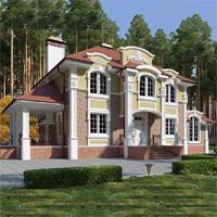 проект дома 71-17 общ. площадь 340,15 м2
