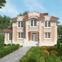 проект дома 71-19 общ. площадь 350,40 м2