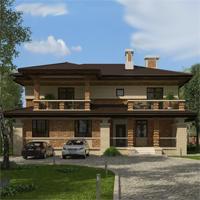 проект дома 20-65 общ. площадь 415,25 м2