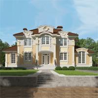 проект дома 71-14 общ. площадь 457,05 м2