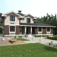 проект дома 24-54 общ. площадь 392,75 м2