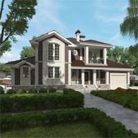 проект дома 71-38 общ. площадь 467,00 м2