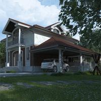 проект дома 21-92 общ. площадь 194,55 м2