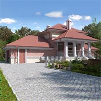 проект дома 74-05 общ. площадь 117,70 м2