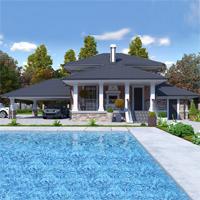 проект дома 74-06 общ. площадь 103,65 м2