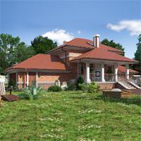 проект дома 74-07 общ. площадь 140,90 м2