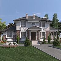 проект дома 74-42 общ. площадь 139,45 м2