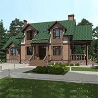 проект дома 74-43 общ. площадь 140,35 м2