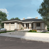 проект дома 27-03 общ. площадь 237,00 м2
