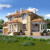 проект дома 71-37 общ. площадь 258,45 м2