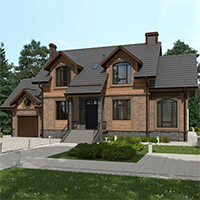 проект дома 76-35 общ. площадь 230,95 м2