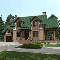 проект дома 76-44 общ. площадь 236,30 м2