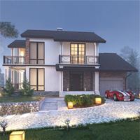 проект дома 71-55 общ. площадь 330,35 м2
