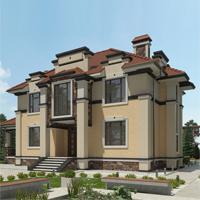 проект дома 71-62 общ. площадь 308,90 м2