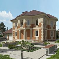 проект дома 76-11 общ. площадь 410,75 м2