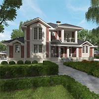 проект дома 76-40 общ. площадь 474,45 м2