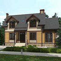 проект дома 76-29 общ. площадь 231,05 м2