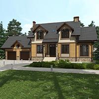 проект дома 76-31 общ. площадь 273,10 м2