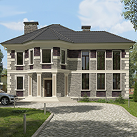 проект дома 76-50 общ. площадь 313,10 м2