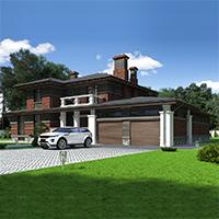 проект дома 75-95 общ. площадь 474,70 м2