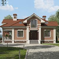 проект дома 76-93 общ. площадь 328,40 м2