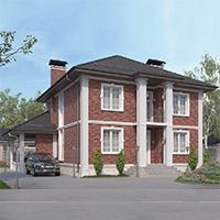 проект дома 76-12 общ. площадь 272,65 м2