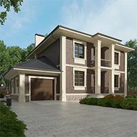 проект дома 76-13 общ. площадь 299,50 м2