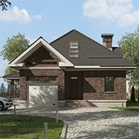 проект дома 76-71 общ. площадь 268,30 м2