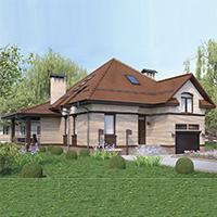 проект дома 76-75 общ. площадь 269,95 м2