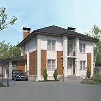 проект дома 76-22 общ. площадь 307,65 м2