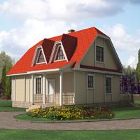 проект дома 10-12 общ. площадь 134,0м2