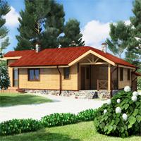 проект дома 19-19 общ. площадь 126,6 м2