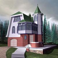 проект дома 79-34 общ. площадь 168 м2