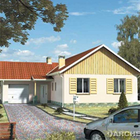 проект дома 19-54 общ. площадь 123,0м2