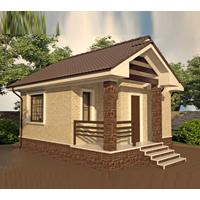 проект дома 15-08 общ. площадь 34,64 м2