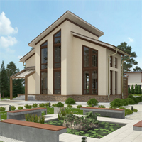 проект дома 15-82 общ. площадь 181,35 м2