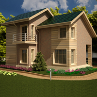 проект дома 15-87 общ. площадь 190,08 м2