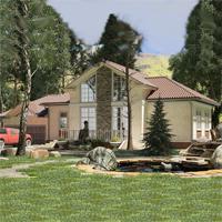 проект дома 16-75 общ. площадь 196,30 м2