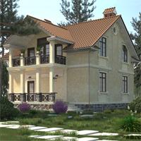 проект дома 14-75 общ. площадь 256,04 м2