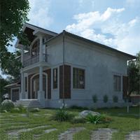 проект дома 14-89 общ. площадь 203,85 м2