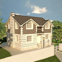 проект дома 15-68 общ. площадь 223,20 м2