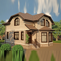 проект дома 15-69 общ. площадь 231,87 м2