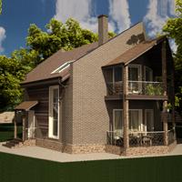 проект дома 15-89 общ. площадь 241,27 м2