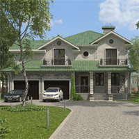 проект дома 16-63 общ. площадь 283,60 м2