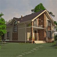 проект дома 15-54 общ. площадь 311,45 м2