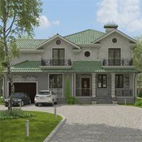 проект дома 16-55 общ. площадь 324,45 м2