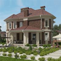 проект дома 16-64 общ. площадь 318,07 м2