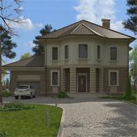 проект дома 16-65 общ. площадь 334,00 м2